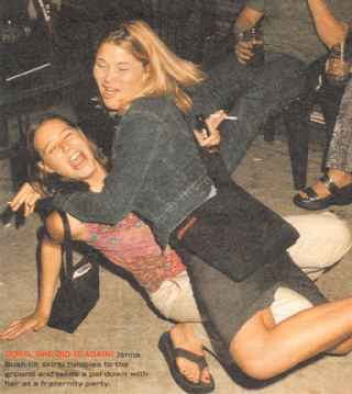 bush daughter drunk