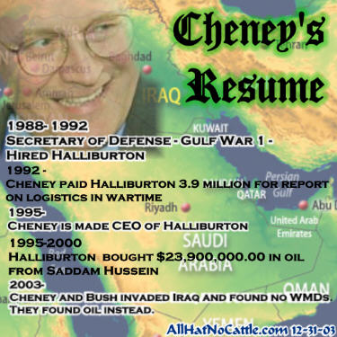 Dick Cheneys Halliburton - Mother Jones